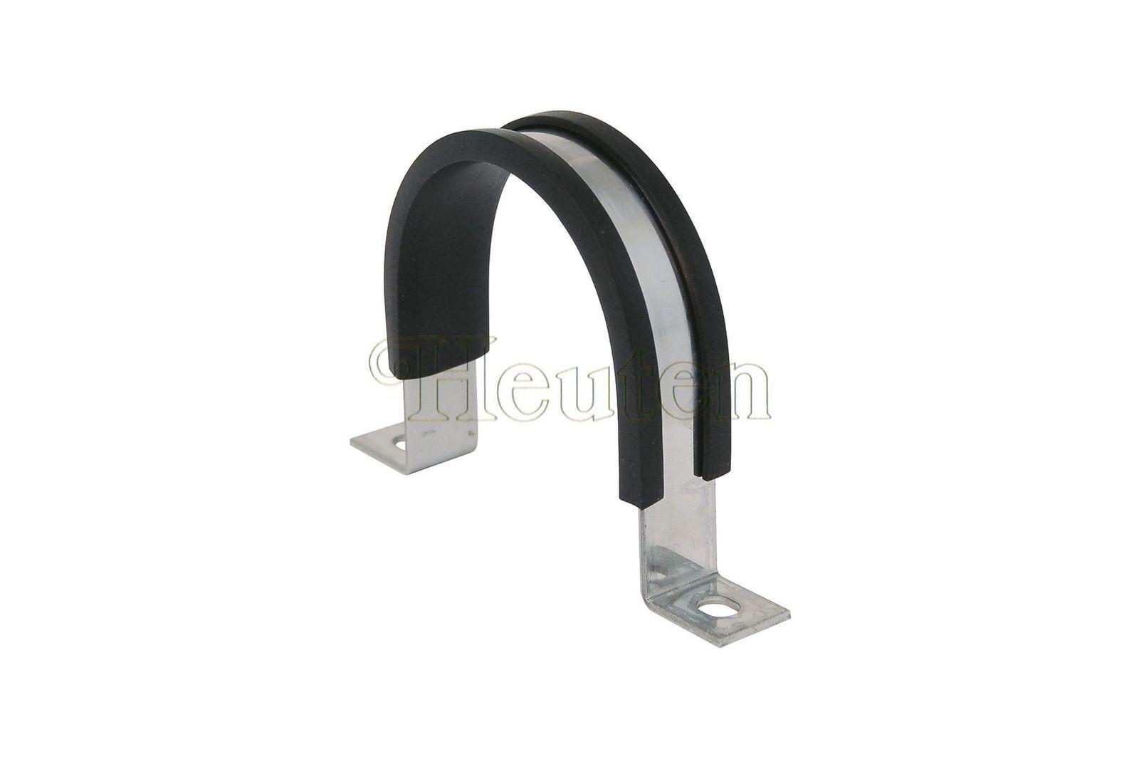 #Edelstahl-Befestigungsbügel (+Gummi) Wischermotor Mini, 37H 4836SS