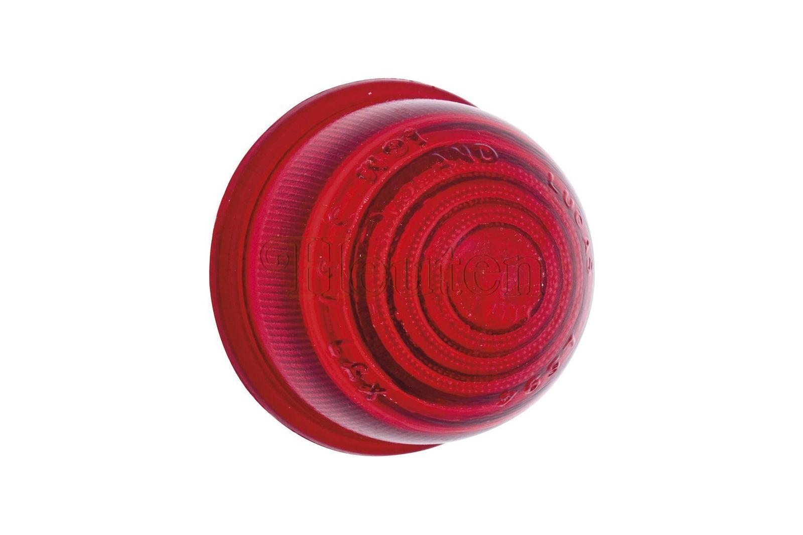 #Blinker-, Rücklichtglas L594 rot Mini, 37H 5531