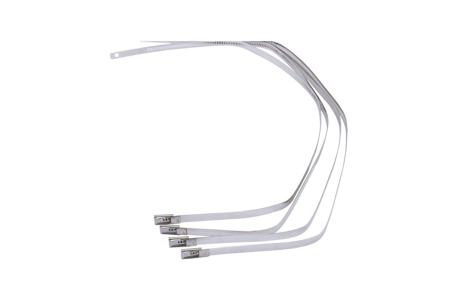 #Edelstahl Kabelbinder-Satz 6x 22,95 cm + 4x 45,72 cm, GAC0173