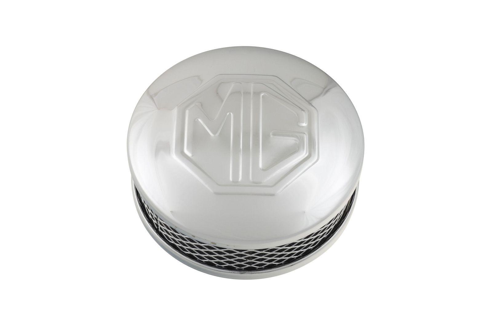 """#Luftfilter verchromt mit MG-Emblem für 1,5"""" SU-Vergaser, GAC1055X"""