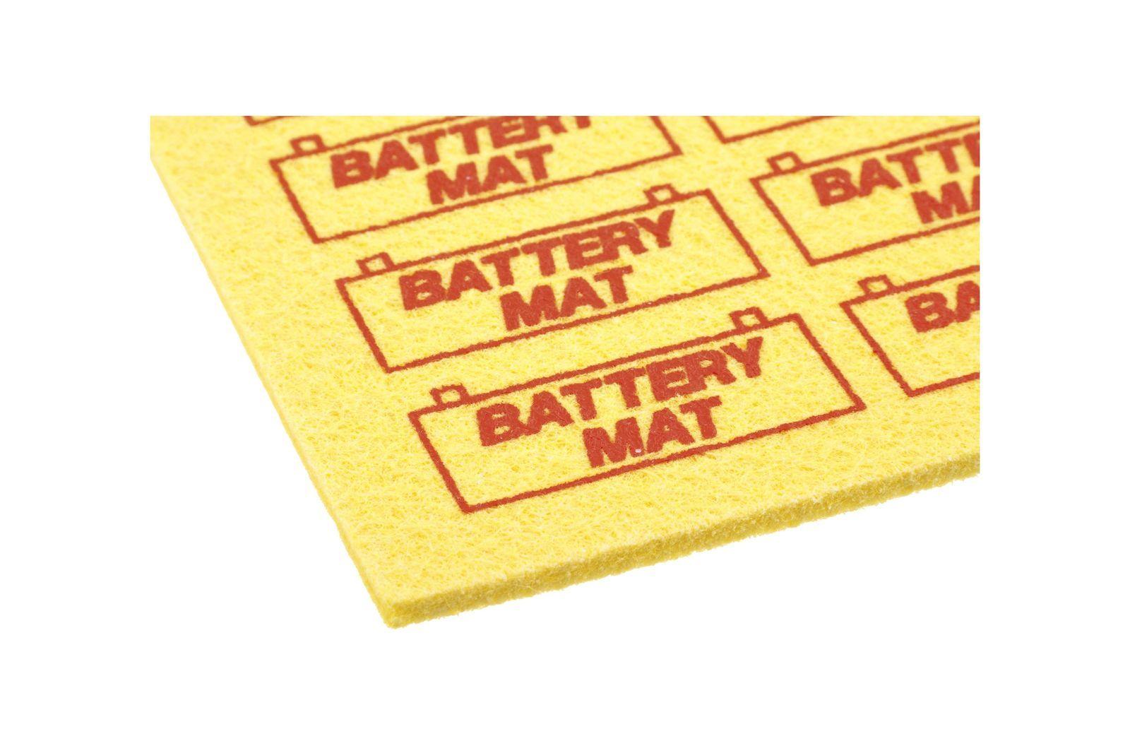 #Gummimatte Batteriesäurefest 30,5 x 20,5 cm., GAC2029X