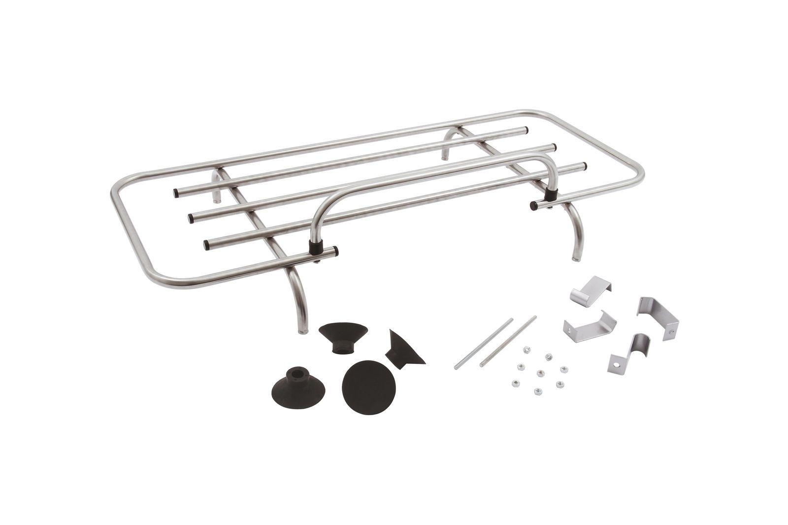 #Gepäckträger Kofferraumdeckel Edelstahl mit Edelstahl Tragerschienen, GAC4004SS