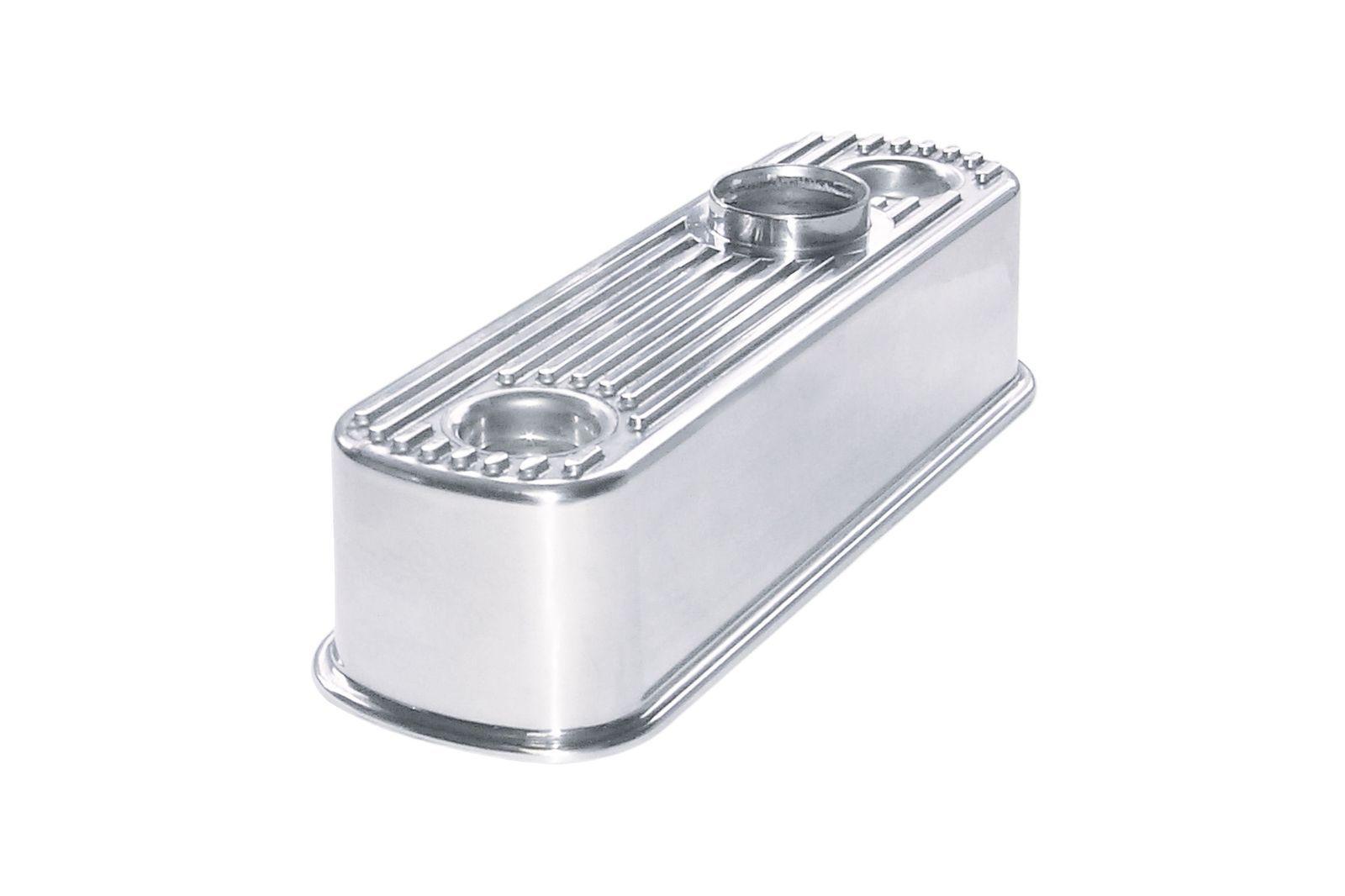 #Aluminium Ventildeckel Mini poliert, gerippt, GAC4068P