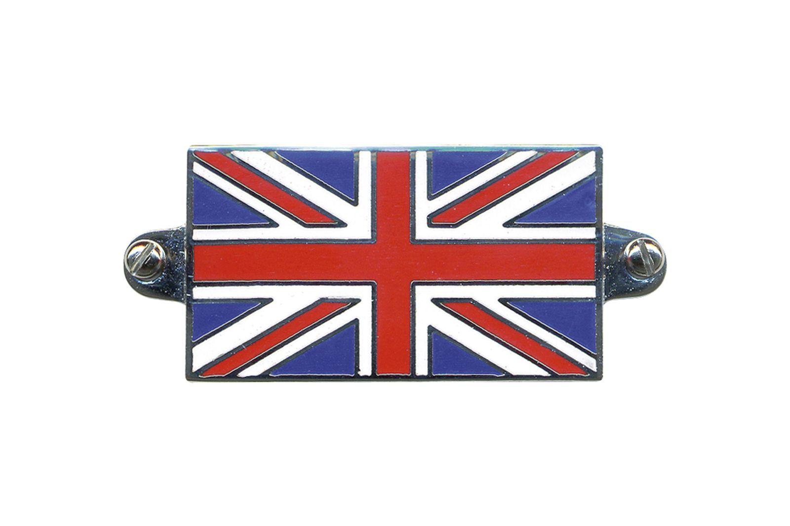 """#Abzeichen """"Union Jack"""" 50x30 mm, emailliert Mini, GAC4100"""