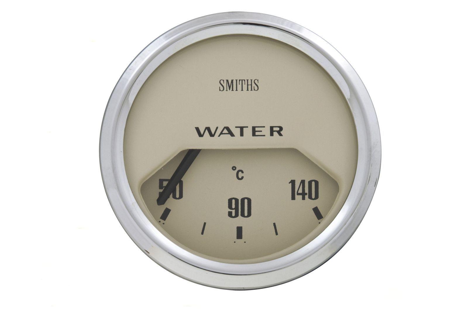 #Wassertemperatur Instrument 52 mm Dia. helles Ziffernblatt, GAE0124M