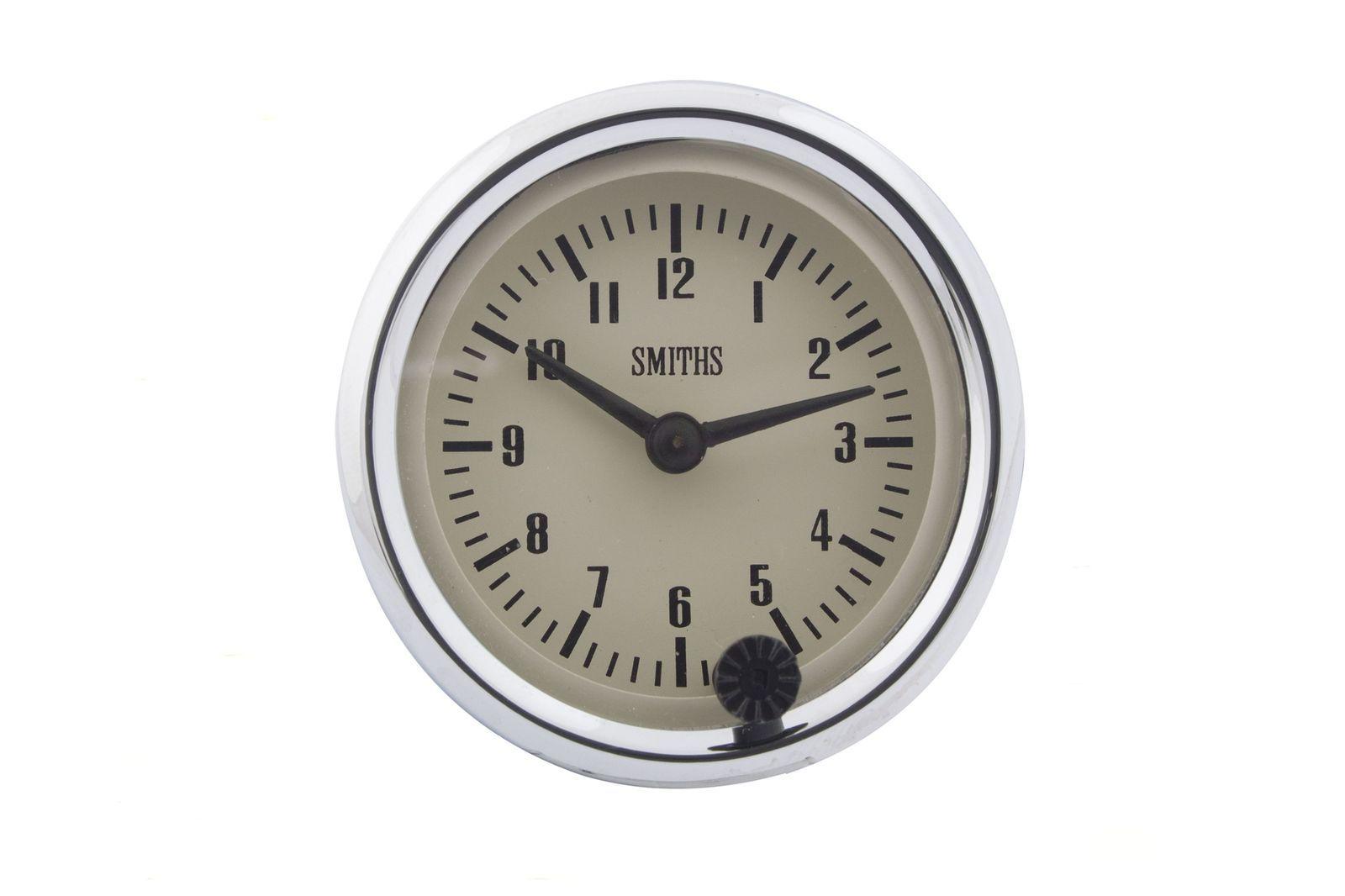 #Zeituhr 52 mm Dia. Helles Ziffernblatt, GAE0128M