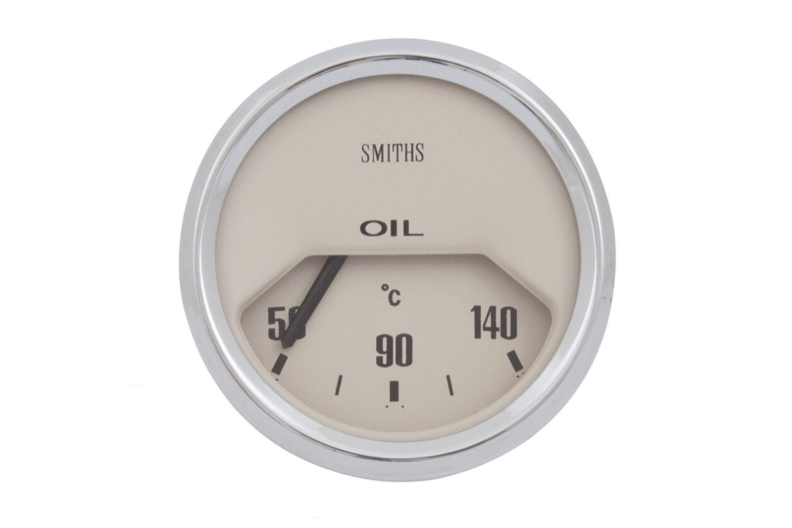 #Öldruck Instrument 52 mm Dia. helles Ziffernblatt, GAE0129M