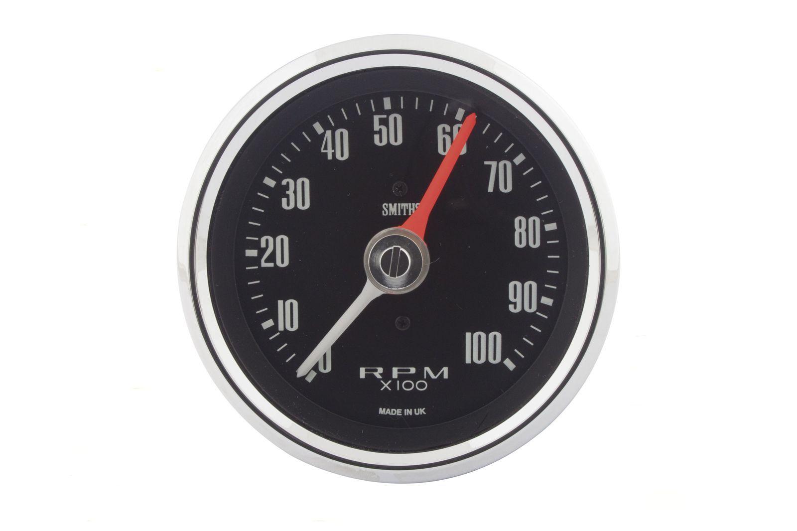 #Drehzahl-Instrument 80mm Dia. 0-10000 upm, schwarzes Ziffernblatt, GAE0130A