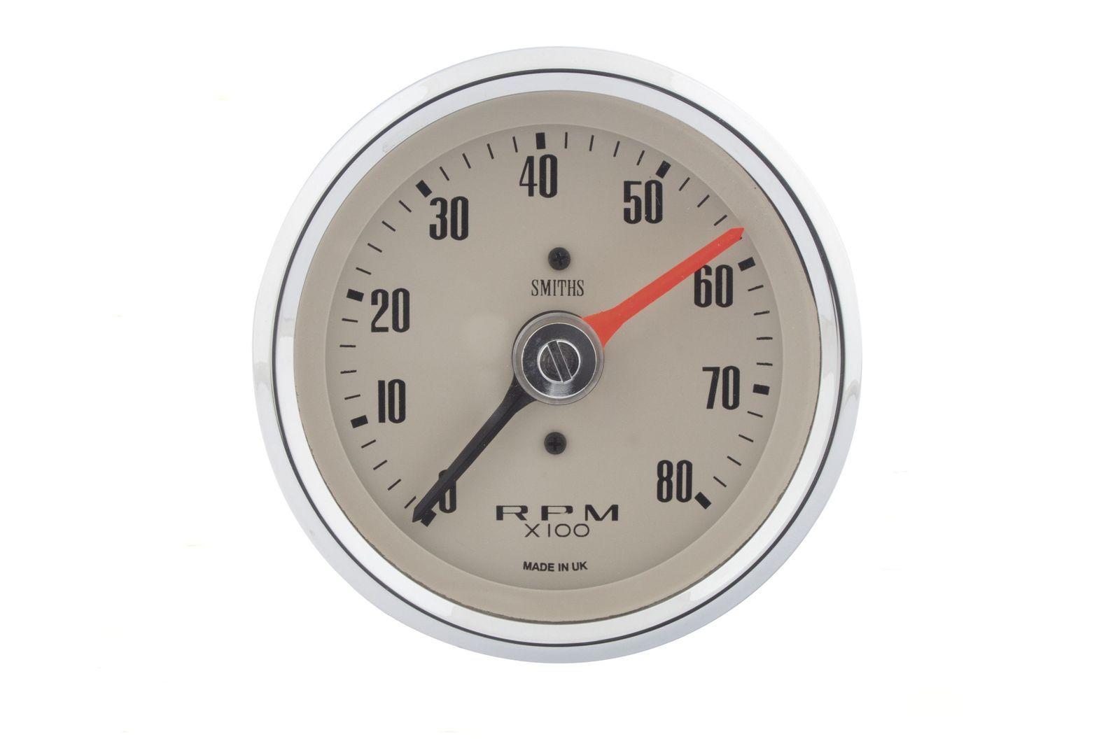 #Drehzahl-Instrument 80mm Dia. 0-8000 upm, helles Ziffernblatt, GAE0130M