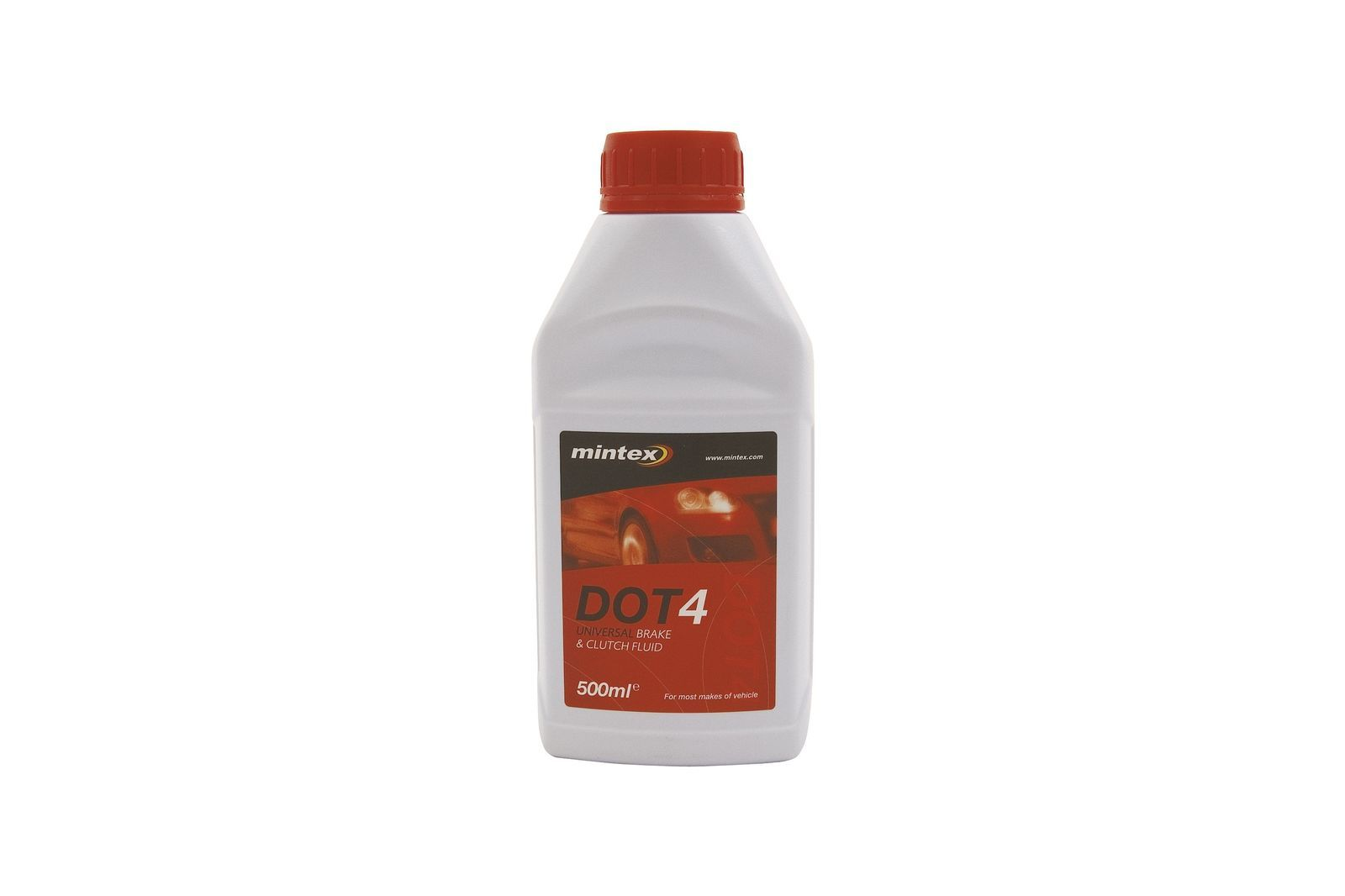 #DOT4 Brems, -Kupplungsflüssigkeit 500 ml. Mini, GBF4102