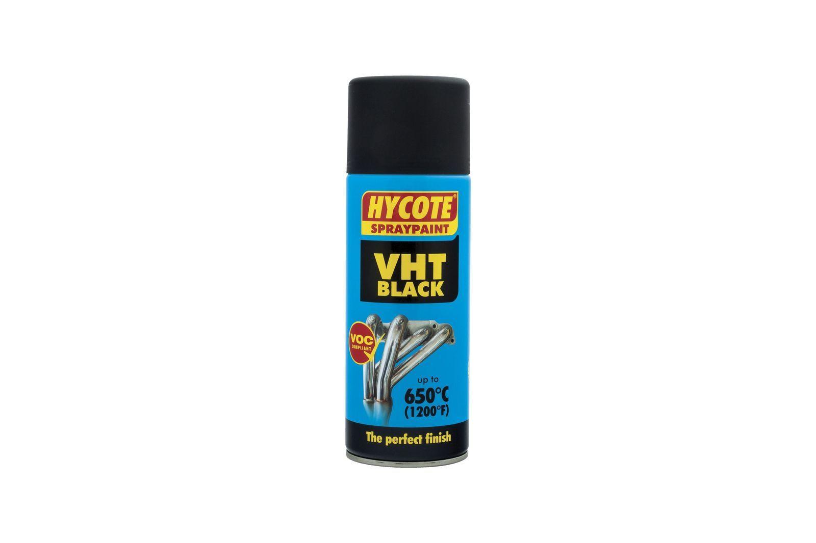 #Auspuffspray Hycote schwarz 400 ml, Mini, MRD1204