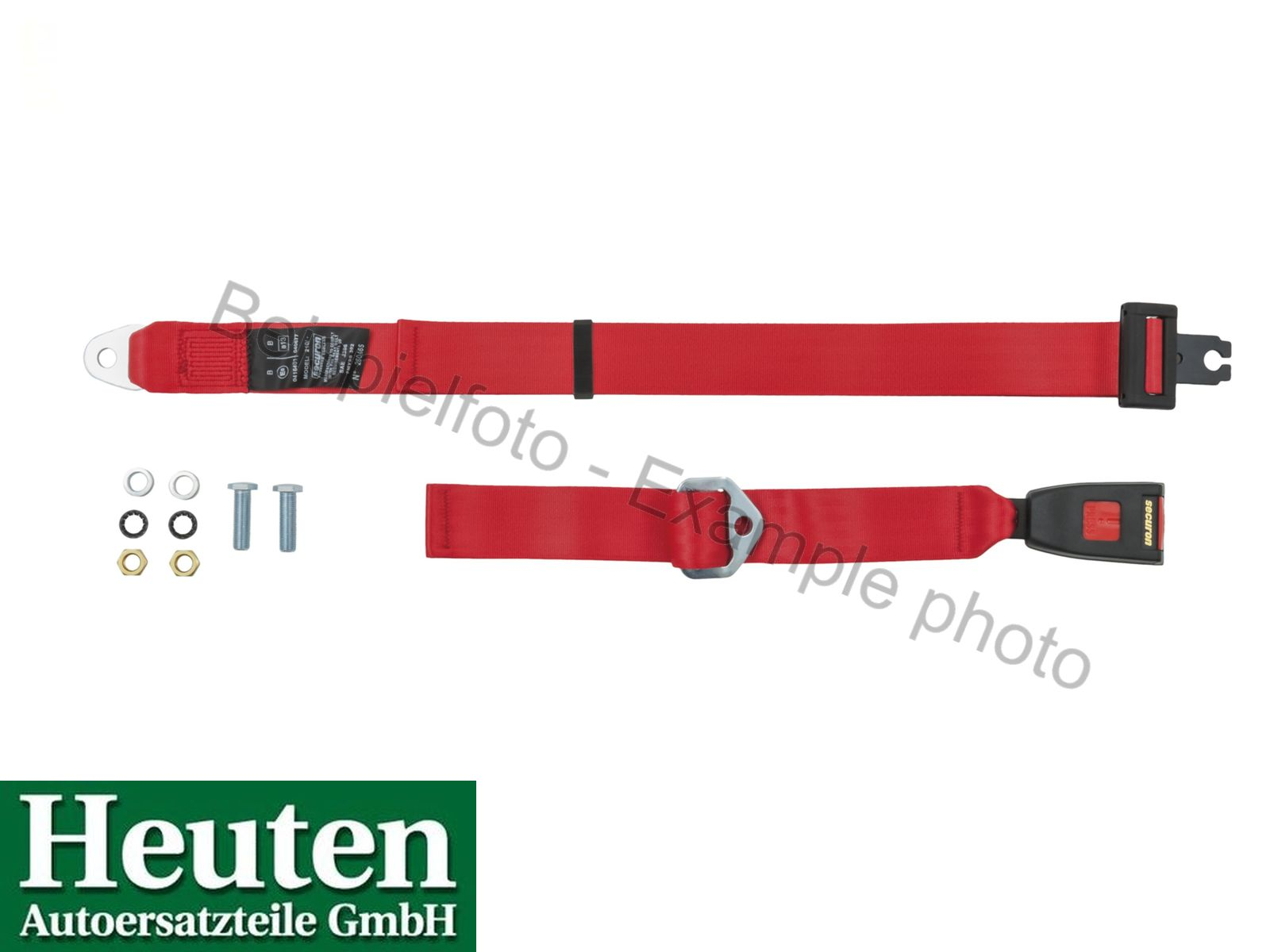 Beckengurt AC Ace statisch vorne Rot, 210E
