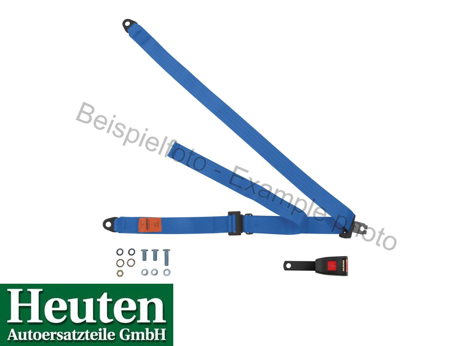 Sicherheitsgurt AC Ace statisch vorne Blau, 300/15C