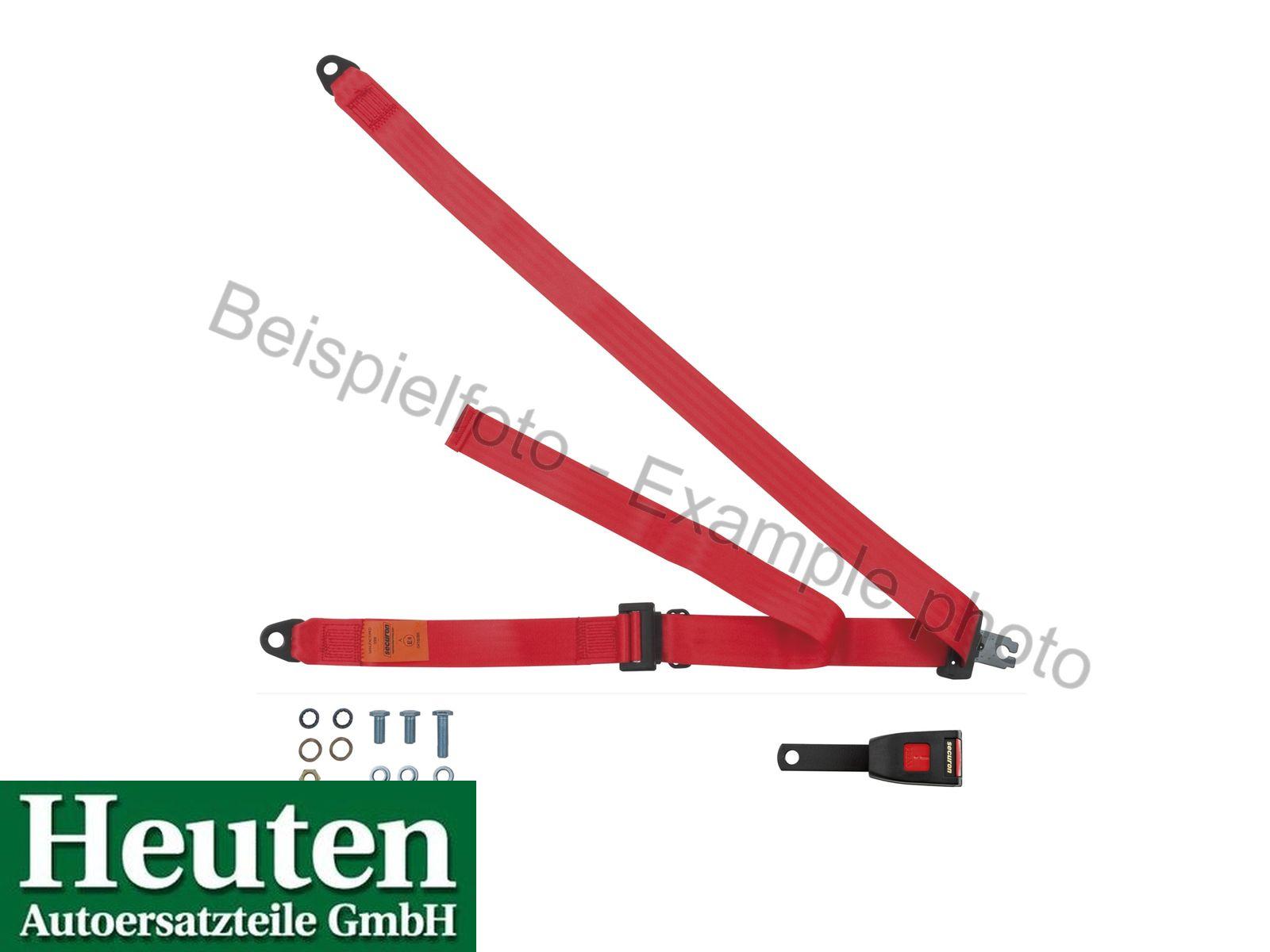 Sicherheitsgurt AC Ace statisch vorne Rot, 300/15E