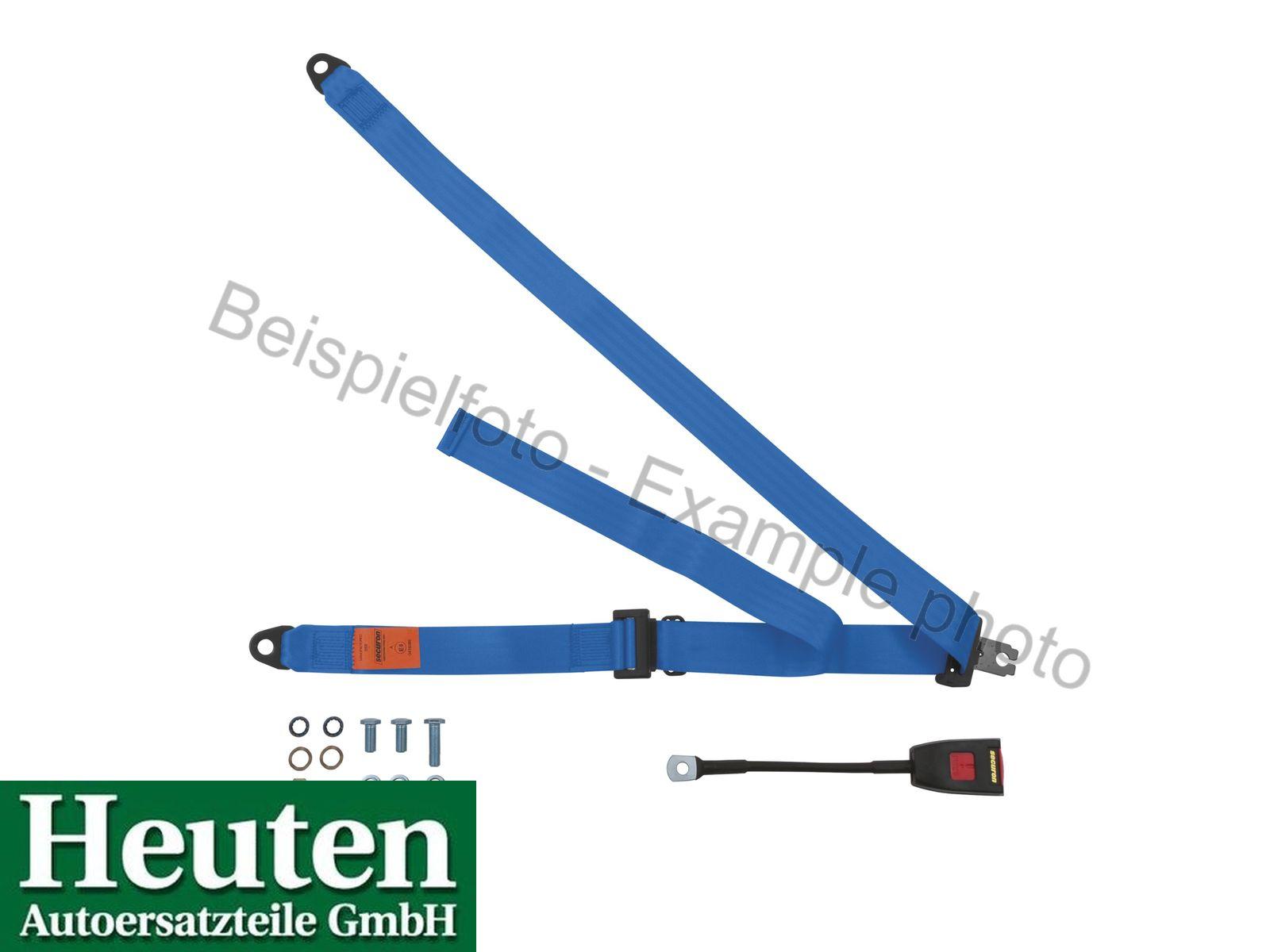 Sicherheitsgurt AC 428 statisch vorne Blau, 300/30C