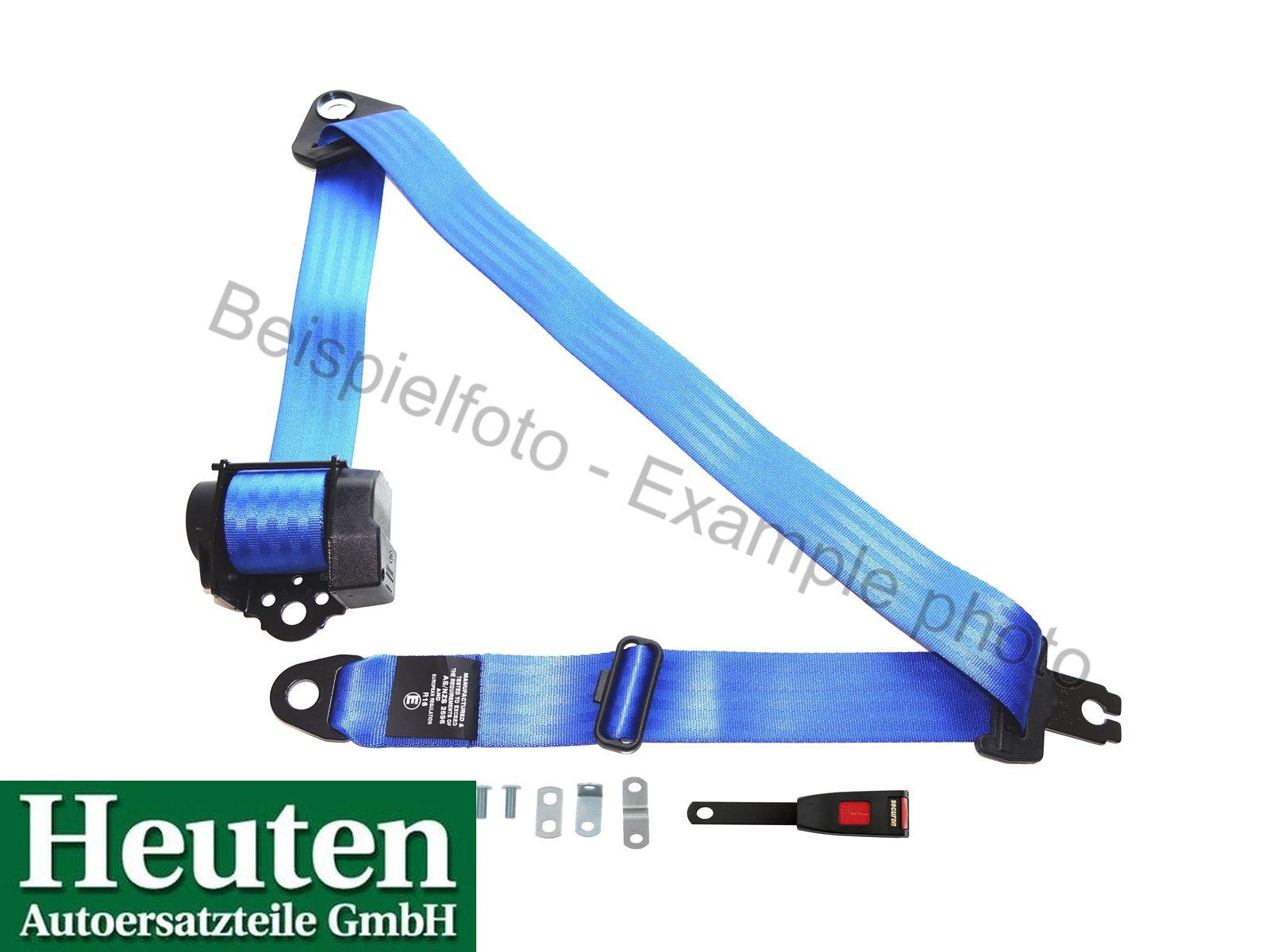 Sicherheitsgurt AC Ace Automatik vorne Blau, 500/15C