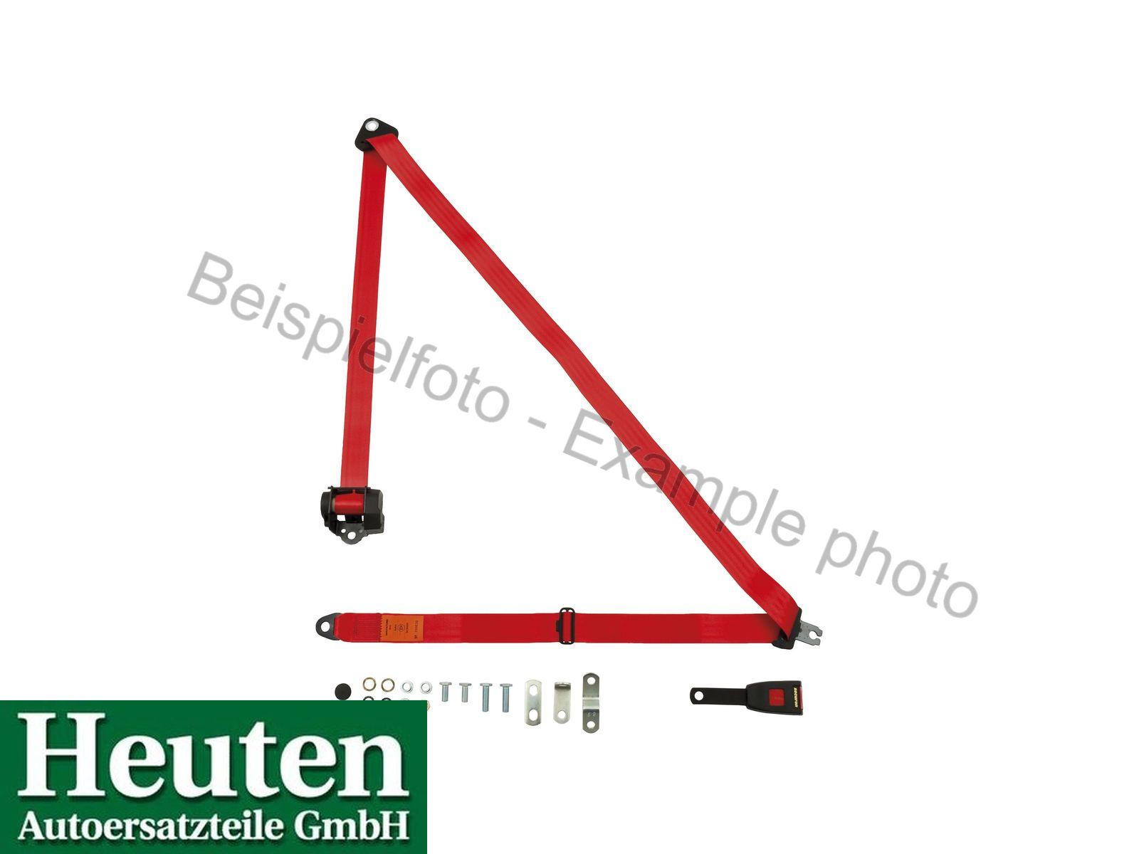 Sicherheitsgurt AC Ace Automatik vorne Rot, 500/15E