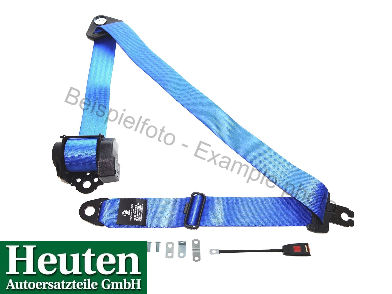 Sicherheitsgurt AC 428 Automatik vorne Blau, 500/30C